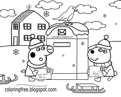 winter coloring pages easy free coloring pages printable pictures to color kids