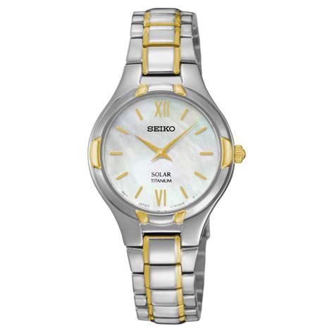 seiko titanium solar jewelry watches
