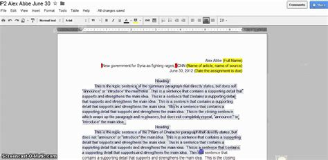 Current Events Essay by Current Event Paper Checklist Requirements
