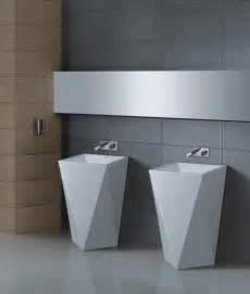 Modern Bathroom Pedestal Sink Maccione Ii Modern Pedestal Sink