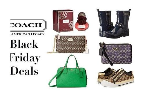 coach deals on black friday