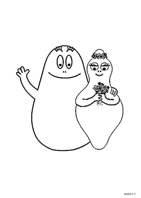 coloring page barbapapa and barbamama img 9626