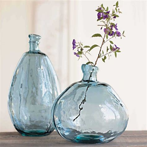 Recycled Glass Balloon Vases by A Touch Of Recycle Glass Ninatchka