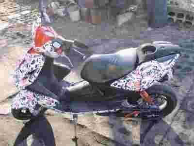 Yamaha Aerox Stickerbomb by Yamaha Aerox 2007r Stickerbomb Jednyny Taki W Pl