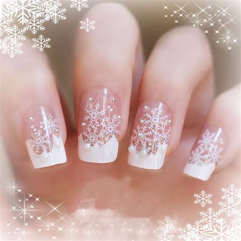 christmas nails art design acrylic stickers cute