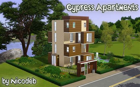 Sims 2 Apartment Update Patch Mod The Sims Cypress Apartments