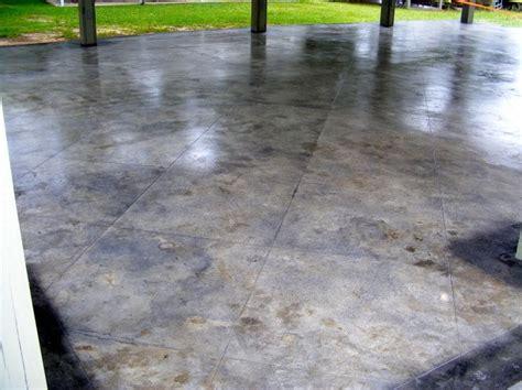 Patio Concrete Tiles by 32 Best Decorative Concrete Patios Images On
