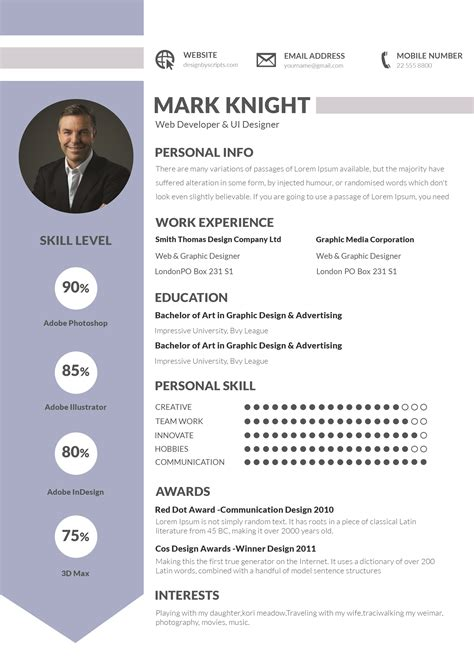 good templates for word guide to good professional cv sles good resume sles