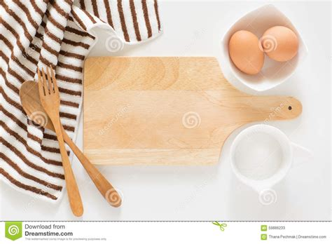 cooking board baking ingredients for cooking and cutting board for