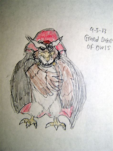 rock a doodle owl name rock a doodle villain the grand duke of owls by vyel on