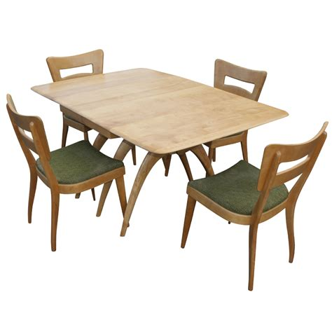 Heywood Wakefield Dining Table 94 Quot Heywood Wakefield Pedestal Dining Table Ebay