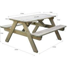 On pinterest picnic tables picnic table plans and trestle table