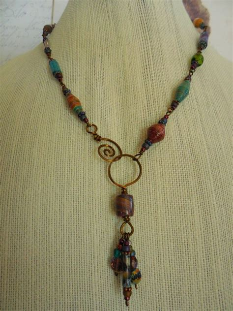 Paper Bead Jewelry Ideas - best 25 paper bead jewelry ideas on paper