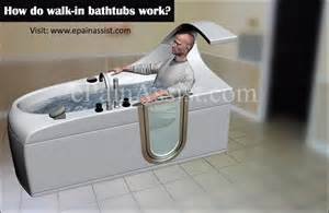 in bathtub walk in bathtubs for seniors advantages disadvantages