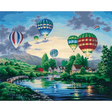 glow in the paint by numbers dimensions 16 215 20 paint by number kit balloon glow