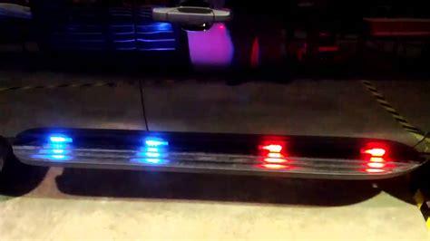running board emergency lights running board lights
