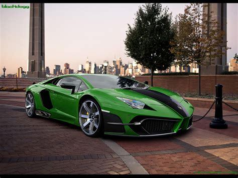 Lamborghini Aventador Green Lamborghini Aventador