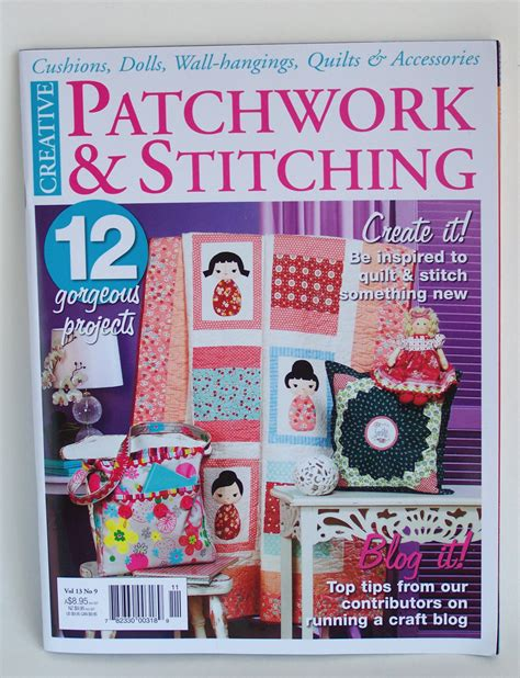 Patchwork And Stitching Magazine - sharlzndollz special in this month s australia