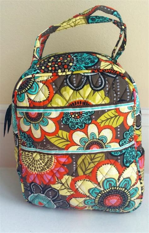 insulated tote bag pattern vera bradley lunch bunch insulated tote bag in your choice