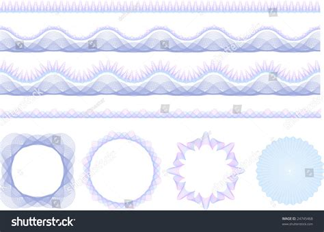brush easy pattern set of security guilloche seamless patterns rosetta