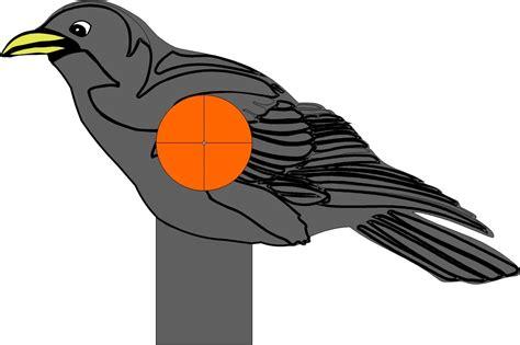 printable crow targets bird targets printable www imgkid com the image kid