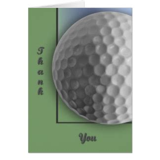 golf thank you card template golf cards
