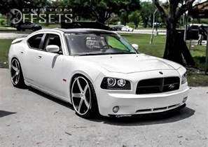 wheel offset 2010 dodge charger flush dropped 3 custom rims