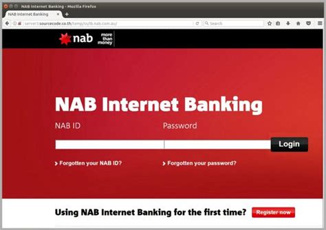 net nab bank phishing scam targets nab customers with website