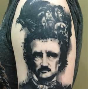Vision tattoo edgar allan poe tattoo tattoo artists tattoo