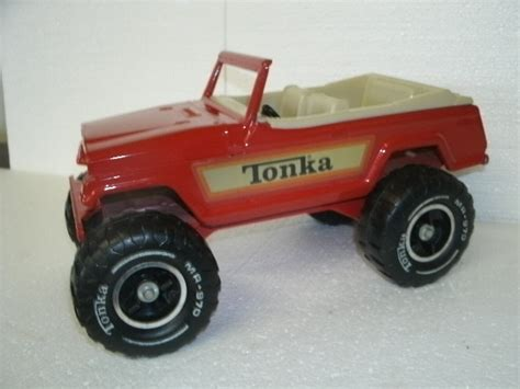 red toy jeep tonka red jeep john s petro collectibles