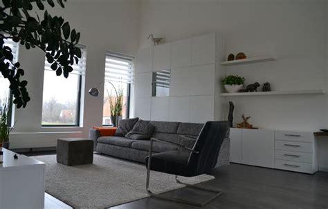 ikea besta living room interieurplan woonkamer door binnenkijken interieuradvies beuningen naturel oranje orange