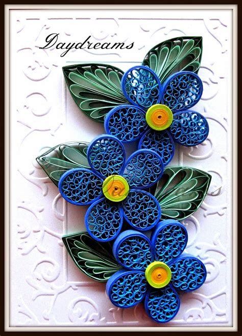 quilling tutorial beehive flower daydreams blue beehive flowers for mother s day