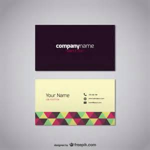 business cards free template 20 free business card design templates from freepik