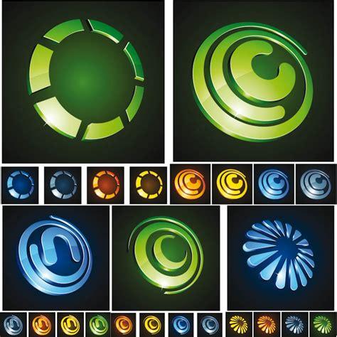 3d logo templates 16 3d vector logo images free vector logo design