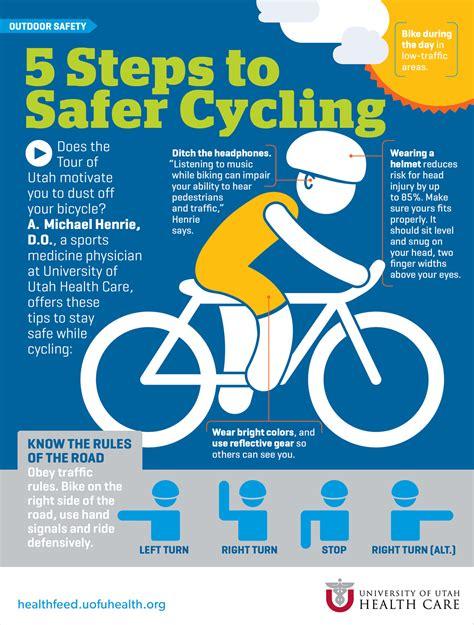 biker safety 5 steps to safer cycling