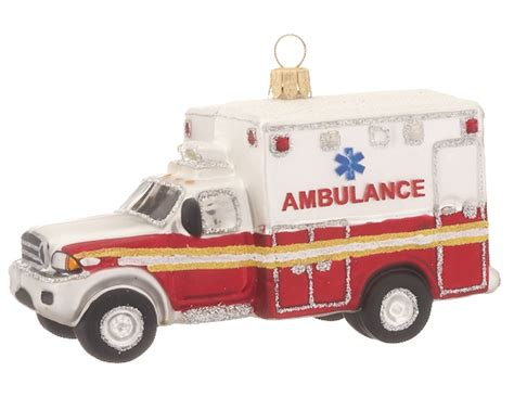 nyc ambulance christmas ornament occupations