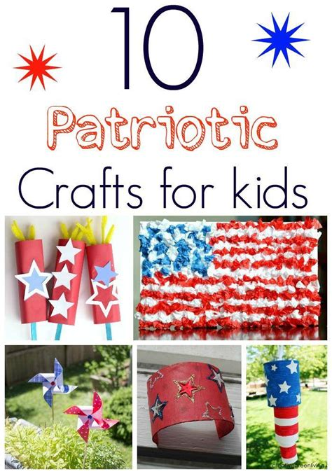 patriotic crafts for 10 patriotic craft ideas for 4th of july