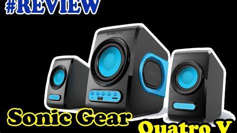 Speaker Quatro V review speaker sonicgear quatro v