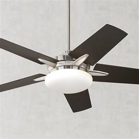 52 quot casa endeavor brushed nickel bronze ceiling fan