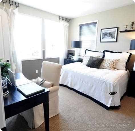 bedroom office combo decorating pinterest
