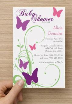 Butterfly Invitations For Baby Shower by Purple Butterfly Baby Shower Water Bottle Wrappers Labels