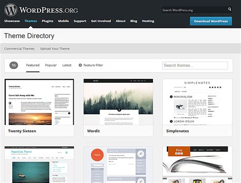 wordpress themes free no ads the 10 top places to download free wordpress themes