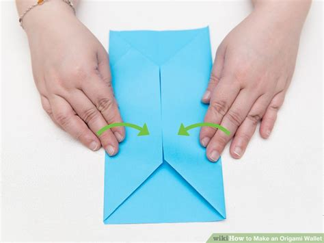 How To Make A Paper Coin Pouch - how to make an origami wallet with pictures wikihow