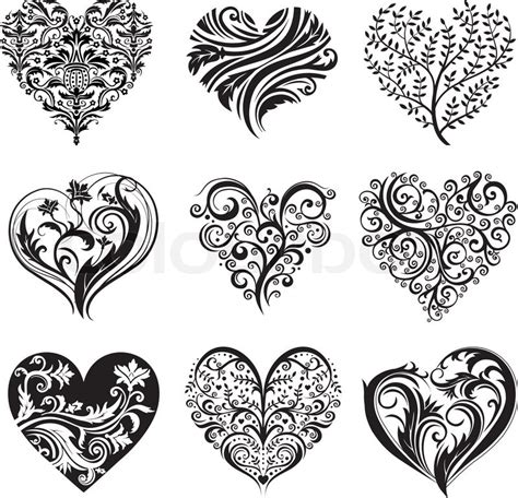 beautiful heart tattoo designs images designs