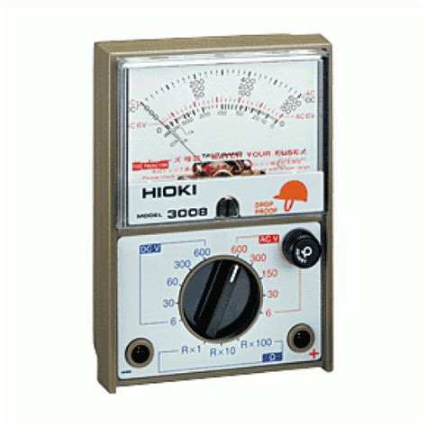 Multimeter Hioki 3008 hioki analog multimeter