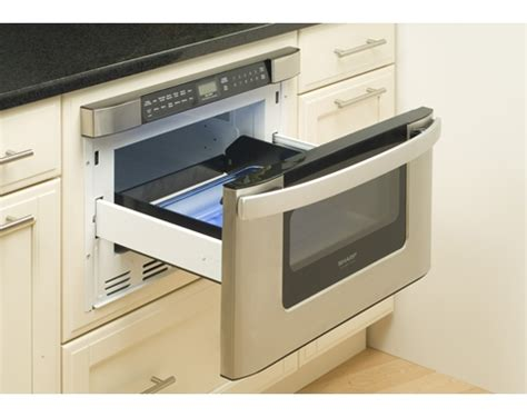 Sharp Microwave Drawer Problems by New House Kitchen Appliance Choices To Free Up