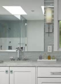 bathroom modern tile ideas backsplash: gray bathroom tiles contemporary bathroom aidan design