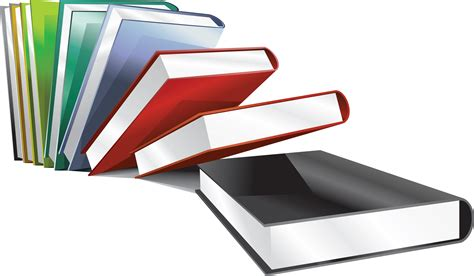 book images 18 books png image with transparency background