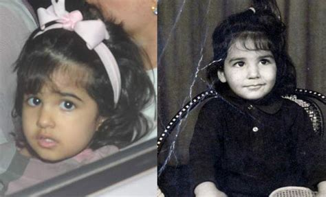 This picture proves Nitara is a carbon copy of her father ...