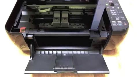 mp280 reset waste ink canon mp280 changing the cartridges youtube